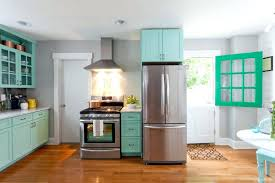 colors with oak cabinets grey kitchen paint granite white modern