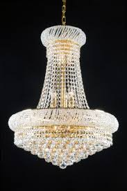 swarovski crystal trimmed french empire crystal chandeliers