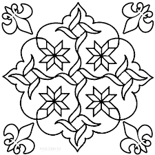 Rangoli Coloring Pages 2644684