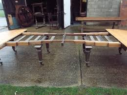 large extending dining table antique furniture warehouse 5 metre antique oak dining table