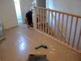 How To Install A Banister Removable Handrail Balcony System Youtube