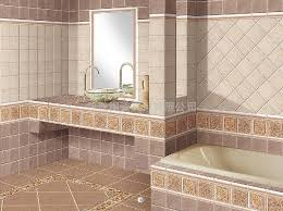 Bathroom Tile Designs Gallery Master Bath Pale Pebble Tile Shower - Bathroom wall tiles design ideas 2