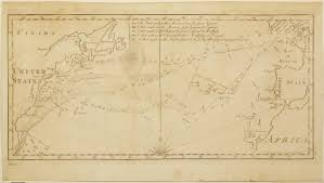 Map Of The Gulf Stream An 18th Century Gulf Stream Chart With A Ben Franklin Connection