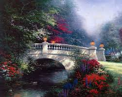 881 best kinkade images on beautiful paintings
