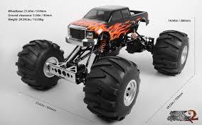 1 24 scale monster jam trucks rc4wd 1 4 killer krawler 2 kit black