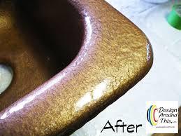 Kitchen Sink Paint by Cast Iron Sink Restoration Project Hometalk