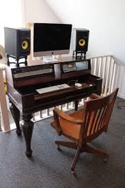 Studio Desk Diy Diy Studio Desk Build Musicbattlestations