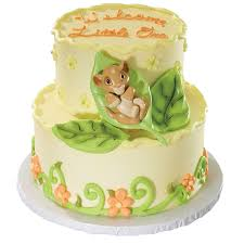 baby shower cake decorations the lion king baby simba decoset cakes disney baby
