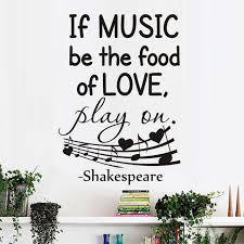 sprüche essen wenn musik werden das essen liebe wandtattoos home dekorative