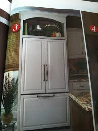 refrigerator cab above glass cab fadedplains blog kitchen
