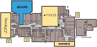 Floor Plan Of A Shopping Mall Sears Westland Shopping Center