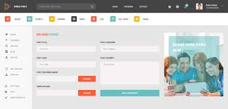 video post u2013 video sharing psd template by nile theme themeforest