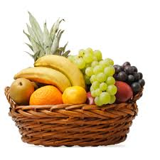 basket of fruits fruit basket 4 5 kgflower with