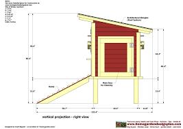 chicken coop building blueprints with easy chicken coop plans