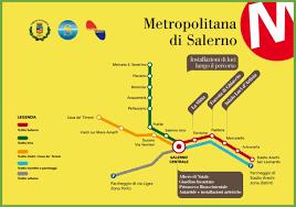 Rome Metro Map by Salerno Metro Map