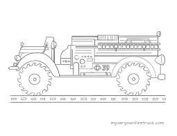 fire truck coloring u2013 monster truck 39 u2013 fire truck