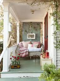 Shabby Chic Patio Furniture by Rustic Front Porch Decorating Ideas Porch Shabby Chic Style With