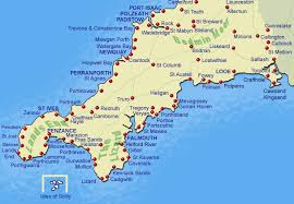map uk villages cornwall s guide to towns and villages