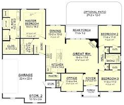 floor plans craftsman best house floor plans country one house plan craftsman house