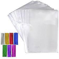 Pretzel Bags For Favors Amazon Com Wilton Shaped Treat Bags 4 1 2x7 1 4 100 Pkg Clear