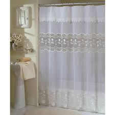 Brown Ruffle Shower Curtain by Halo Game Shower Curtain Shower Images Destiny Game