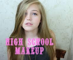 school for makeup everyday high school makeup tutorial kaseyann