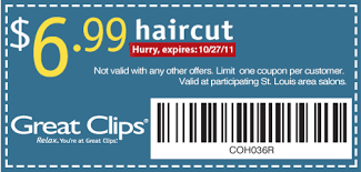 haircut specials at great clips short on cents local readers great clips 6 99 haircuts
