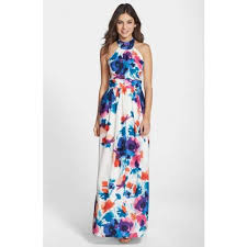 eliza j dresses chic eliza j floral print halter maxi dress eliza j dresses on