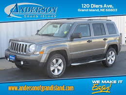 2014 jeep patriot blue used 2014 jeep patriot for sale ford of grand island
