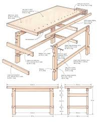 Woodworking Bench Plans Simple by 17 Best Workbench Designs Images On Pinterest Workbench Designs