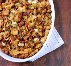 is thanksgiving one word the bitten word thanksgiving 2012 tortilla chip chorizo stuffing