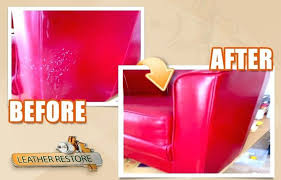 Repair Scratches On Leather Sofa Cat Scratch Leather Sofa Some Work Pull Restoration Repair