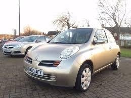 nissan micra 2003 1 4 petrol 3 door hatchback gold in