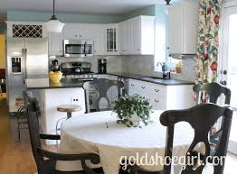 Pictures Of Kitchens With White Cabinets And Black Countertops Beautiful Kitchen Transformation