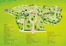 Festival Map Festival Map Peace In The Park The Festival Of Spirit