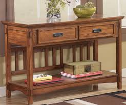 oak sofa tables cross island t719 4 sofa table tenpenny furniture