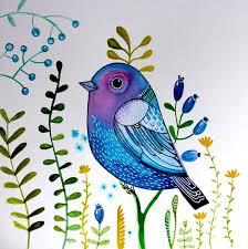 Bird Decor For Nursery Summer Sale Blue Bird Bird Wall Nursery Decor