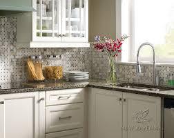 Kitchens Images New Ravenna - Basket weave tile backsplash