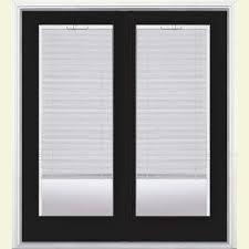 Mini Blinds Black Blinds Between The Glass Black Patio Doors Exterior Doors