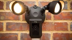outdoor light with camera costco ring floodlight cam keeps watch when you can t cnet