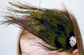 peacock headband peacock colored feather headband peacock feather