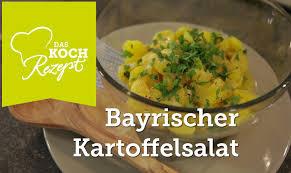 bayerische küche rezepte bayrischer kartoffelsalat rezept daskochrezept de mit stefan