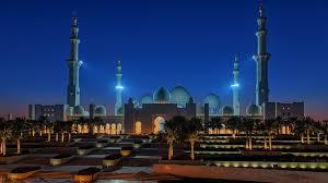 sheikh zayed grand mosque abu dhabi united arab emirates space in
