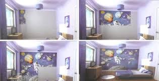chambre enfant espace cosmonaute espace est un papier peint pour chambre d enfant