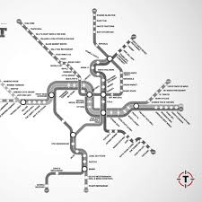 Washington Subway Map by Your First Ever Dc Metro Restaurant Map Washington Dc