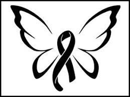 awareness ribbon butterfly decal custom decalz