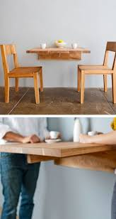Wood Plans For Small Tables by Best 25 Wall Mounted Table Ideas On Pinterest Cafe Design