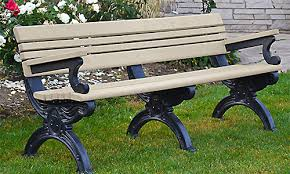 Park Bench And Table Park Bench Styles