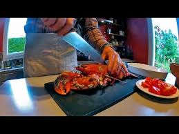 comment cuisiner un homard congelé comment couper un homard