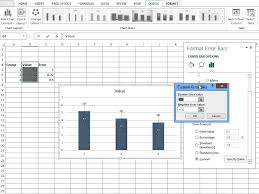 cara membuat grafik integral di excel simple custom error bars excel 2013 youtube